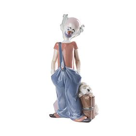 """Фарфоровая статуэтка Lladro """"DESTINATION BIG TOP"""", 20.5 см"""