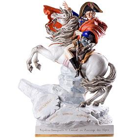 "Величественная скульптура Shiebe - Albach ""Наполеон на коне"", 65 см"