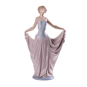 "Фарфоровая статуэтка Lladro ""DANCER"", 30 см"