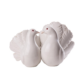 "Коллекционная статуэтка Lladro ""COUPLE OF DOVES"", 12 см"