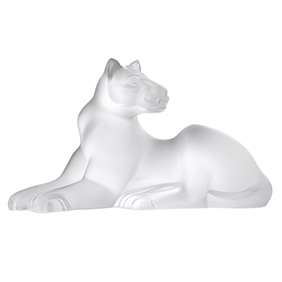 "Хрустальная скульптура Lalique ""Simba Lion"", 13.5 см"