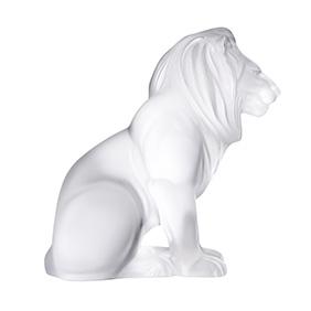 "Хрустальная скульптура Lalique ""Bamara Lion"", 20 см"
