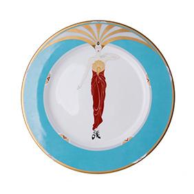 "Тарелка Erté ""Le Soleil Turquoise"", 30.5 см"