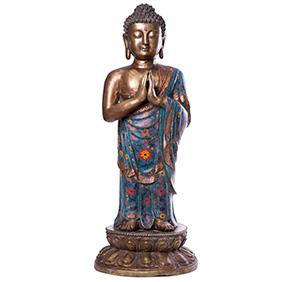 """Большая скульптура """"Будда"""" клуазоне, 79 см"""