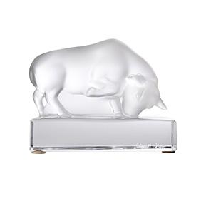 """Хрустальная скульптура Lalique """"Bull"""", 9 см"""