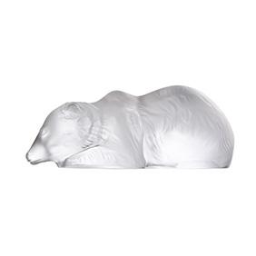 """Хрустальная скульптура Lalique """"Ourson"""", 8 см"""